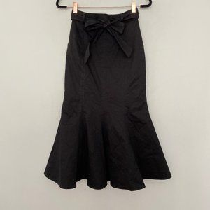 C/MEO Collective Small Flare Belted Maxi Skirt